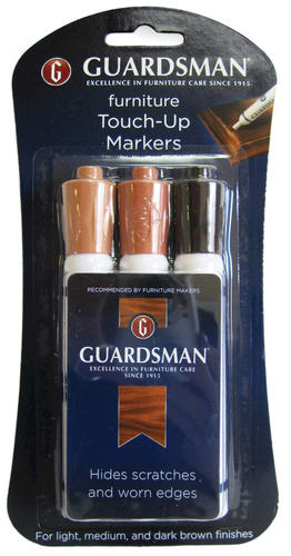 Guardsman Furniture Touch Up Markers 3 Pk At Menards