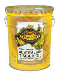 Cabot Natural Low-VOC Australian Timber Oil Wood Stain - 5 gal.