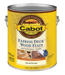 Cabot Express Deck Neutral Base Wood Stain - 1 gal.