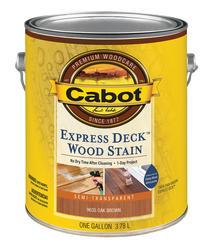Cabot Express Deck Oak Brown Wood Stain - 1 gal.