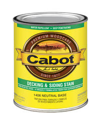 Cabot Neutral Base Semi-Solid Deck & Siding Stain - 1 qt