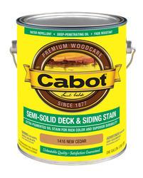 Cabot New Cedar Semi-Solid Deck & Siding Stain - 1 gal.