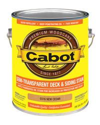 Cabot New Cedar Semi-Transparent Deck & Siding Stain - 1 gal.
