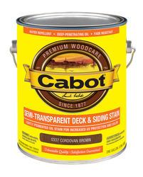 Cabot Cordovan Brown Semi-Transparent Deck & Siding Stain - 1 gal.