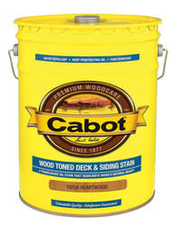Cabot Heartwood Low-VOC Wood Toned Deck & Siding Stain - 5 gal.