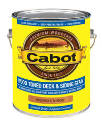 Cabot Pacific Redwood Low-VOC Wood Toned Deck & Siding Stain - 1 gal.