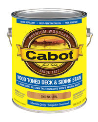 Cabot Natural Wood Toned Deck & Siding Stain - 1 gal.