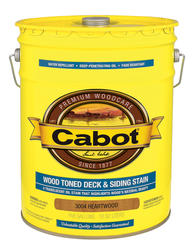Cabot Heartwood Wood Toned Deck & Siding Stain - 5 gal.