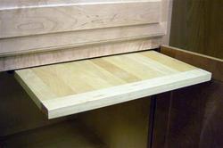 """Vance 16"""" EZ Slide N Store Wood Utility Board"""