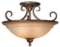 "Omni 3-Light 16.5"" Royal Bronze Ceiling Light"
