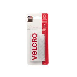 """VELCRO® Brand Sticky Back™ 3.5"""" White Fastener Strips (4-Pack)"""