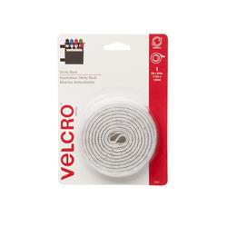 """VELCRO® Brand Sticky Back™ 5' x 3/4"""" White Fastener Tape with Dispenser"""