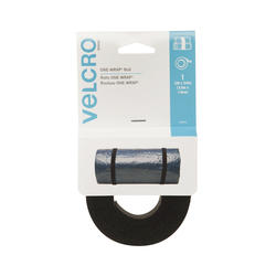 "VELCRO® Brand ONE-WRAP® 12' x 3/4"" Black Fastener Roll"