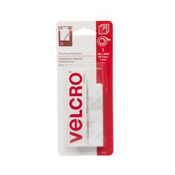 "VELCRO® Brand 18' x 3/4"" Clear Fastener Tape"