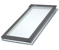 "Velux® 21"" x 37-7/8"" Tempered Glass Deck Mount Fixed Skylight"