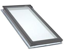 "Velux® 21"" x 37-7/8"" Laminated Glass Deck Mount Fixed Skylight"