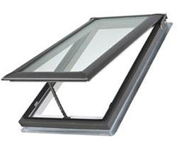 "Velux® 21"" x 37-7/8"" Laminated Glass Deck Mount Vented Skylight"