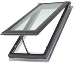 "Velux® 21"" x 45-3/4"" Tempered Glass Deck Mount Vented Skylight"
