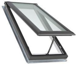 """Velux® 21"""" x 45-3/4"""" Laminated Glass Deck Mount Vented Skylight"""
