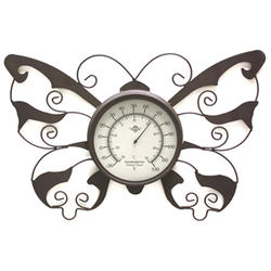 Edinburgh Designs Metal Butterfly Thermometer