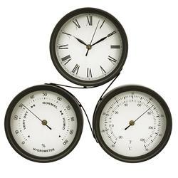 Edinburgh Designs Combination Clock/Thermometer/Hygrometer