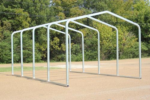 Storage Shelter Frame : W l h storage shelter frame at menards