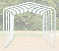 12'W x 10.5'H Back Enclosure Frame