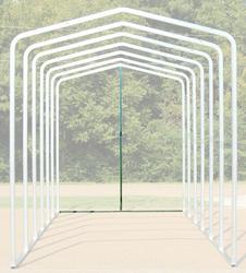 12'W x 11.5'H Back Enclosure Frame