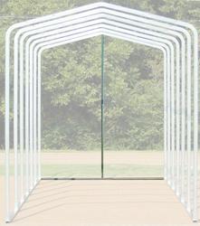12'W x 12.5'H Back Enclosure Frame
