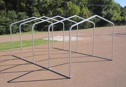 10'W x 18'L x 7'H Storage Shelter Frame