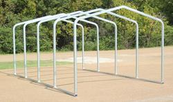 10'W x 18'L x 8.5'H Storage Shelter Frame