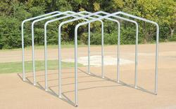 10'W x 18'L x 9.5'H Storage Shelter Frame