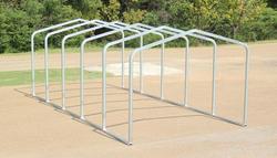 10'W x 22.5'L x 7.5'H Storage Shelter Frame