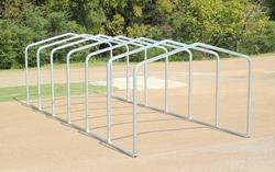 10'W x 27'L x 7.5'H Storage Shelter Frame