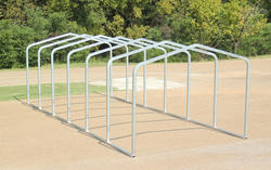 10'W x 27'L x 8.5'H Storage Shelter Frame