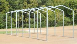 10'W x 27'L x 9.5'H Storage Shelter Frame