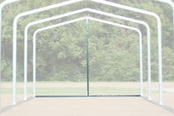 14'W x 7.5'H Back Enclosure Frame