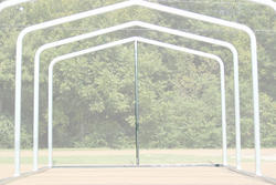 12'W x 8.5'H Back Enclosure Frame