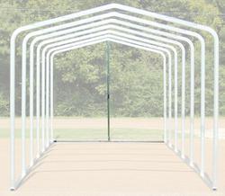10'W x 9.5'H Back Enclosure Frame