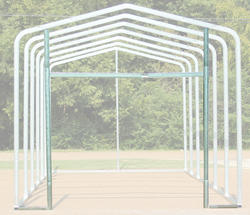 14'W x 10.5'H Front Enclosure Frame