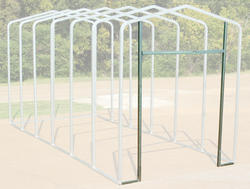 12'W x 11.5'H Front Enclosure Frame