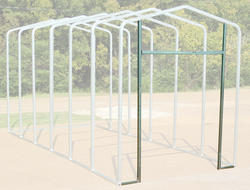 14'W x 11.5'H Front Enclosure Frame