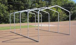 12'W x 18'L x 7'H Storage Shelter Frame