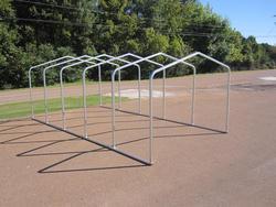 10'W x 22.5'L x 7'H Storage Shelter Frame