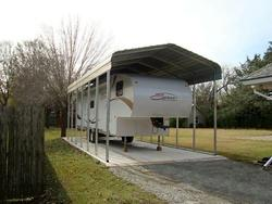 10'W x 18'L x 10.5'H Storage Shelter Frame