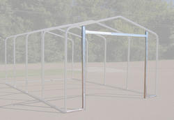 12'W x 7'H Front Enclosure Frame