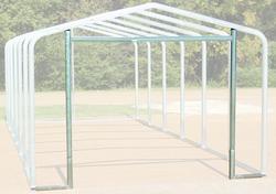 14'W x 8.5'H Front Enclosure Frame