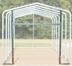 14'W x 9.5'H Front Enclosure Frame