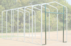 14'W x 12.5'H Front Enclosure Frame