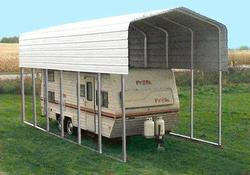 14'W x 27'L x 14'H Storage Shelter Frame